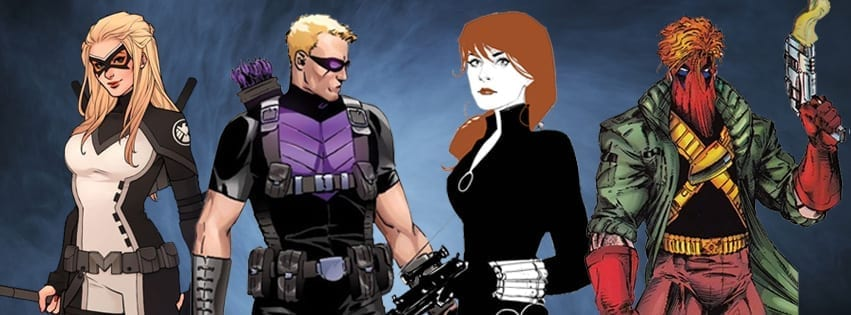 Fanfiction featuring Hawkeye, Grifter, Black Widow and Mockingbird as agents of SHIELD